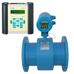 Clamp on electromagnetic flowmeter